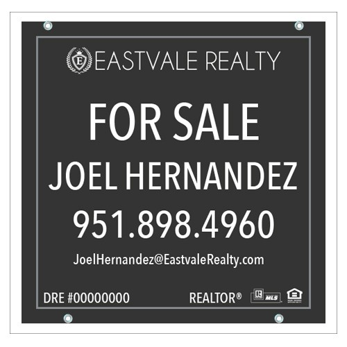 24x24 For Sale Sign Eastvale Realty