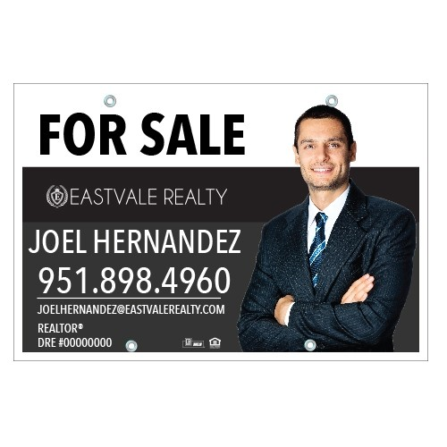 24x36 For Sale Sign Eastvale Realty